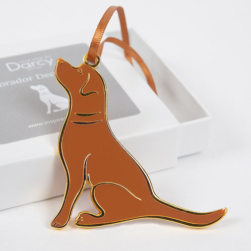 Fox Red Labrador Decoration