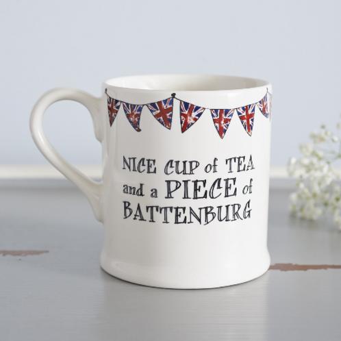 Nice Piece Of Battenburg  Mug