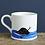 Thumbnail: Labrador Mug Sweet William (Choose Lab Colour)