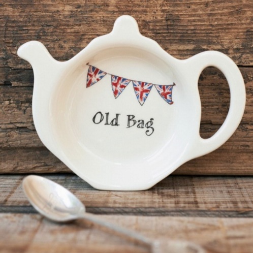 """""""Old Bag""""  Tea Bag Dish"""