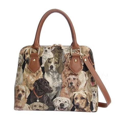 Labrador Top Handle Shoulder Bag