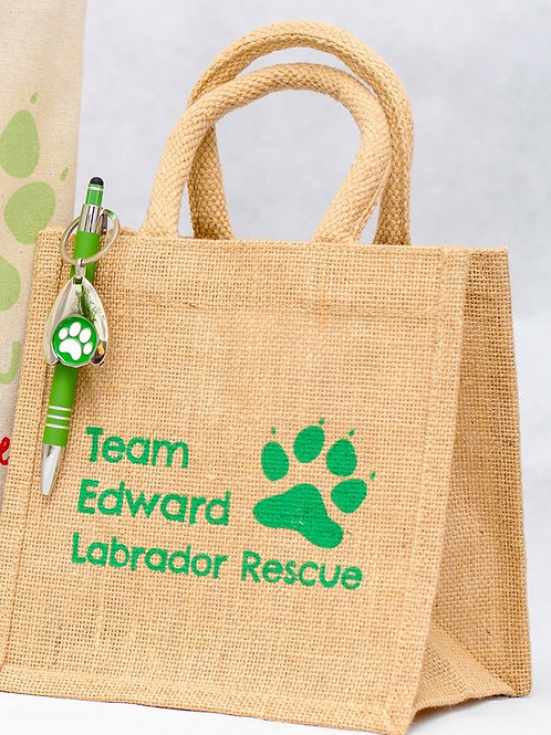 Team Edward Shopping Trolley Key and Pen and Lunch Bag