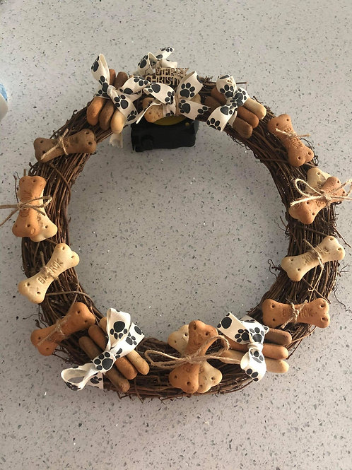 Christmas Wreath- Brown
