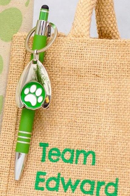 Team Edward Shopping Trolley Key and Pen