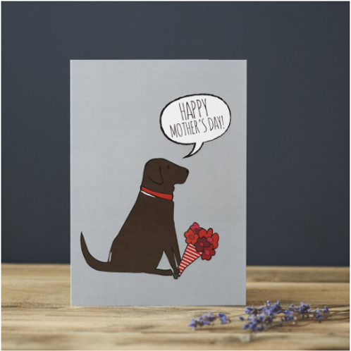 Mothers Day Chocolate Labrador