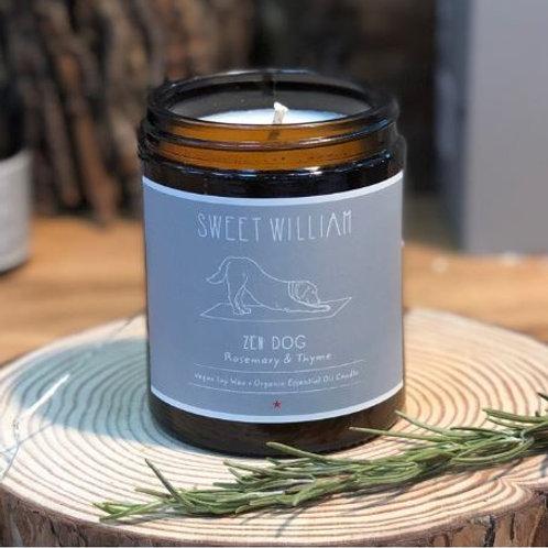 Zen Dog Organic Candle