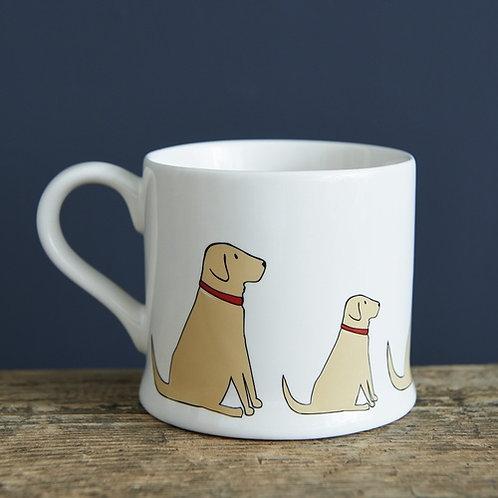 Yellow Labrador Mug