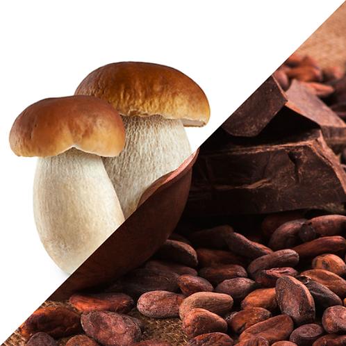 Ravioli di Cacao ai Porcini