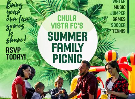Chula Vista FC | Summer Family Picnic 2019