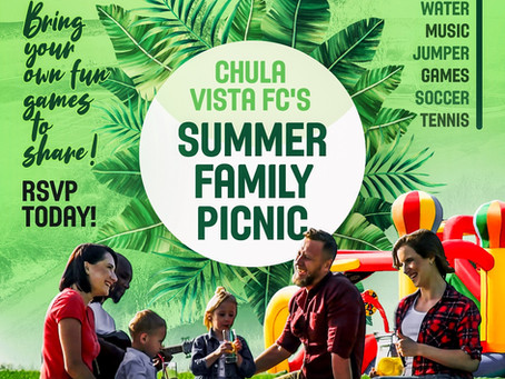 Chula Vista FC | Summer Family Picnic 2019