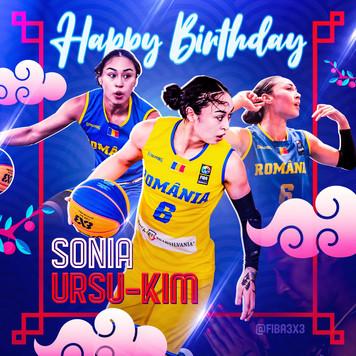 Happy BirthdaySonia Ursu Kim