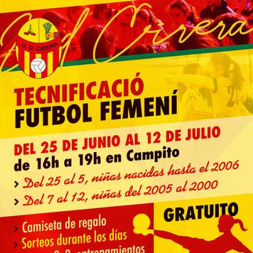Tecnificación Futbol Femenino