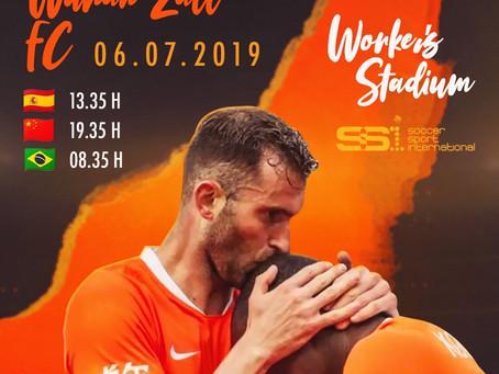 Leo Baptistao | Beijing Sinobo Guoan vs Wuhan Zall FC