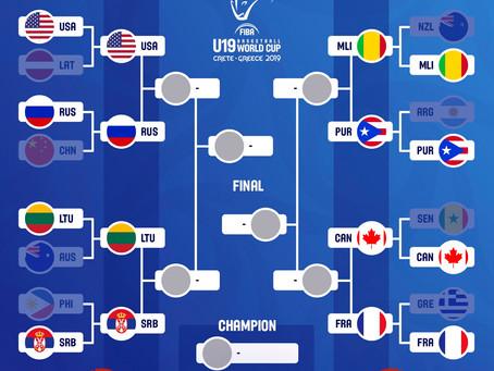 FIBA U19 Quarter-Finals