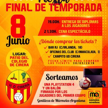 Fiesta Final Temporada