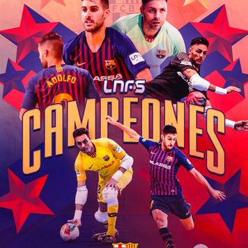 Barsa Lassa Campeones LNFS