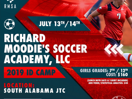 Richard Moodie's Soccer Academy   2019 ID Camp
