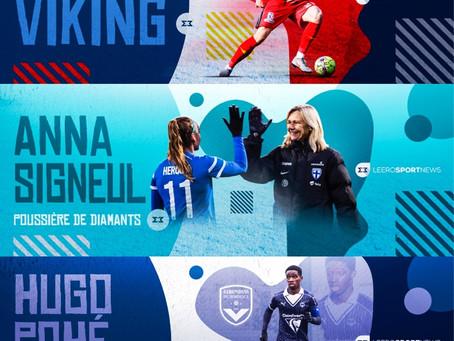 Graphics for Leero Sport News interviews
