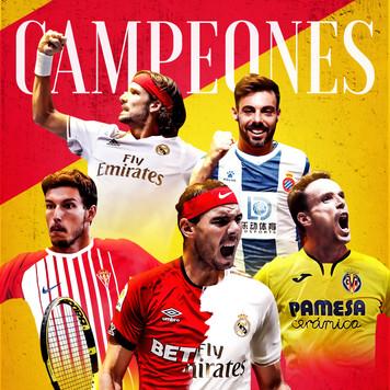 Campeones Copa Davis