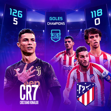 Cristiano vs Atlético