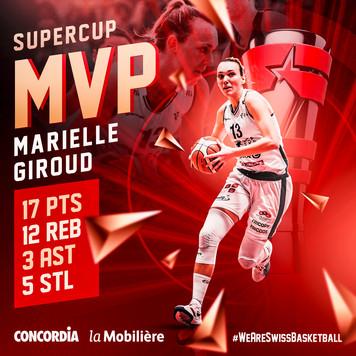 MVP Marielle Giroud