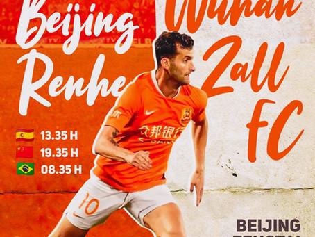 Leo Baptistao | Beijing Renhe vs Wuhan Zall FC