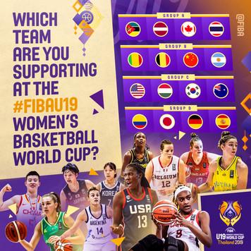 FIBAU19 Womens