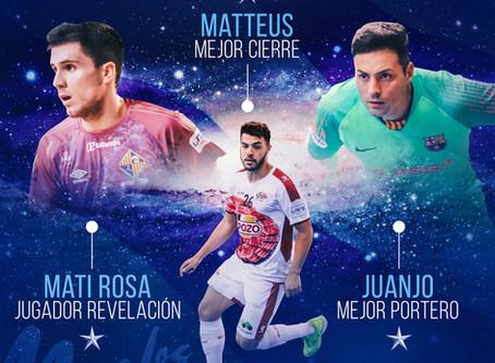 Los mejores de la temporada LNFS 2018/2019