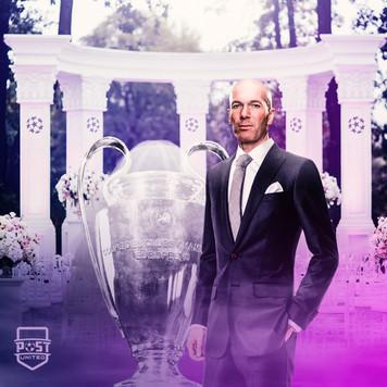 Zidane x Champions League