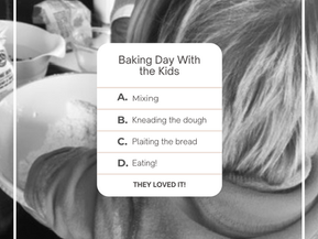 Half term ideas for kids - 'Bakers' for Day