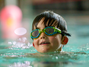 Making waves. Swimming -an important life skill