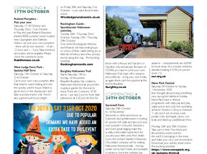 What's on in Stamford and Rutland - Autumn