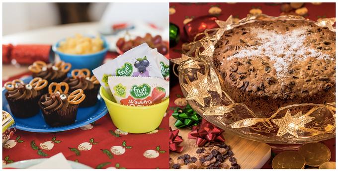 Make with the Kids: Christmas Reindeer Cupcakes and Fruity Christmas Cakes