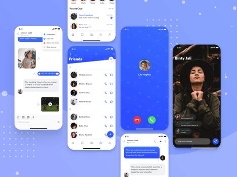 Flutter Message Chat