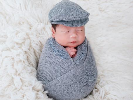 Singapore Newborn Photography - Evan @ 26 old