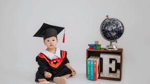 Baby Milestone Session - Eristelle's Fun Moving Up Photoshoot