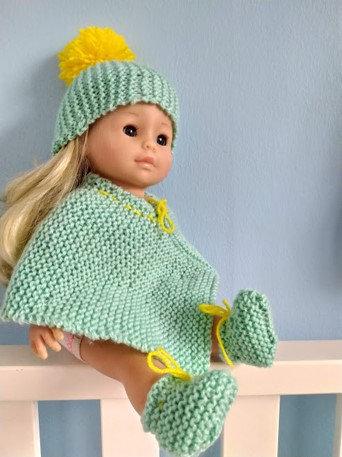 Ensemble tricot poupée