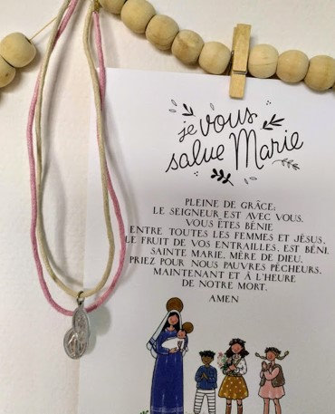 Collier Médaille miraculeuse