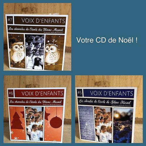 CD de Noël du Blanc Mesnil