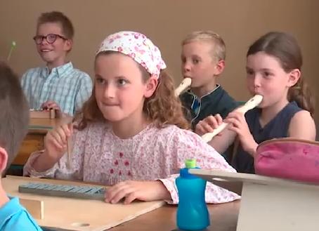 Atelier musical à l'école du Blanc Mesnil