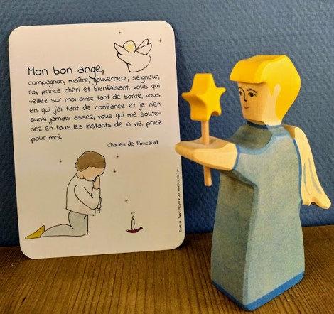 Carte postale Ange gardien