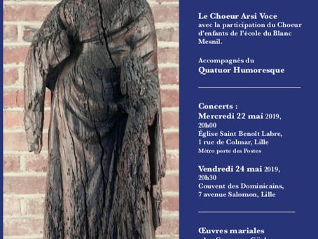 La chorale du Blanc Mesnil en concert