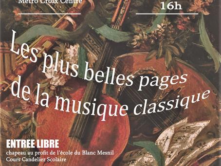 Concert des 10 ans du Blanc Mesnil