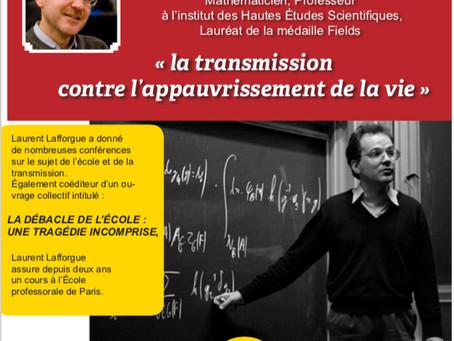 Conférence de Laurent Lafforgue