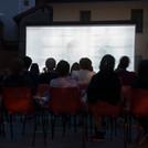 Outdoor-Filmvorführung