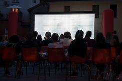 Projection de films en plein air