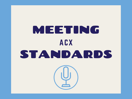 Meeting ACX Submission Standards