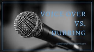 Voice Over Dubbing