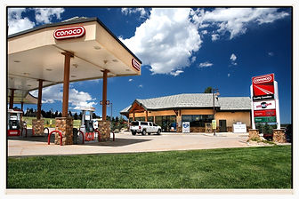 Gas station serving the Meadow Park community and surrounding areas