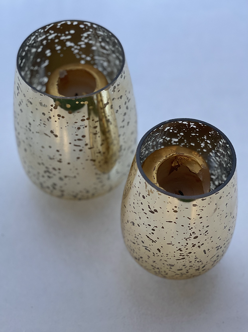Gold candle Vase